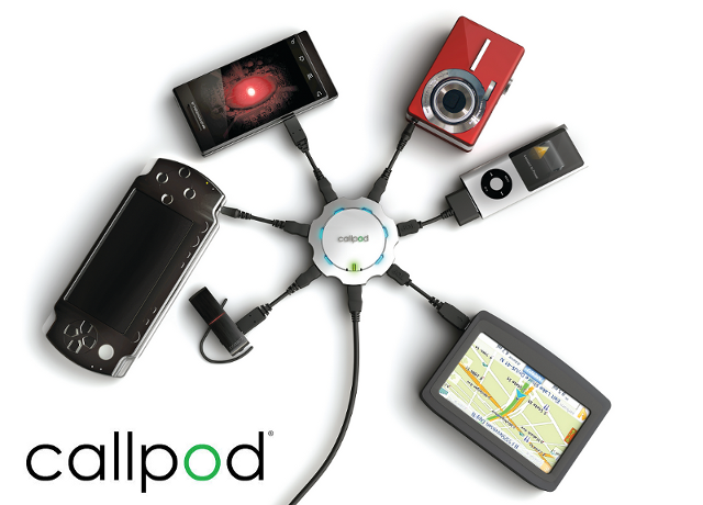 Power Charger, Chargepod by Callpod, Keeps You Connected When Traveling
