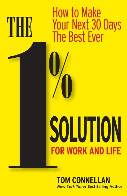 Nudge-Nudge. How 1 Percent Makes All the Difference – Breakthrough Book by Tom Connellan