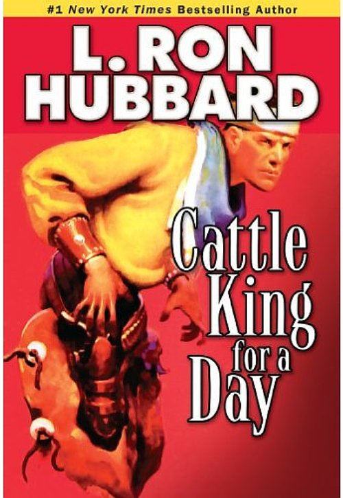 "Western Pulp Fiction Classic ""Cattle King For a Day"" AudioBook on CD Back by Popular Demand"