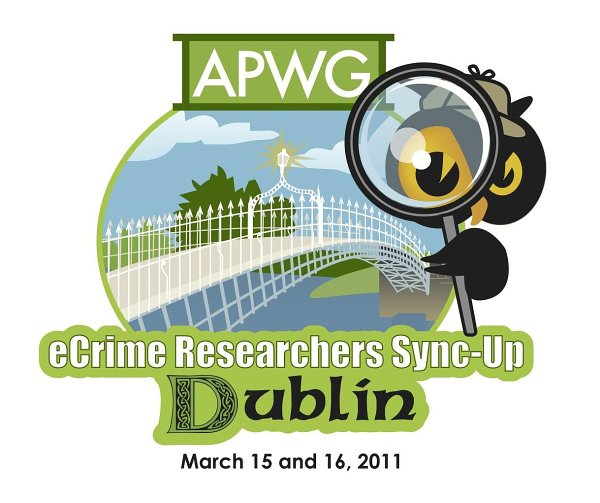 Cybercrime Fighters to Gather at Dublin eCrime Researchers Sync-Up, March 15-16