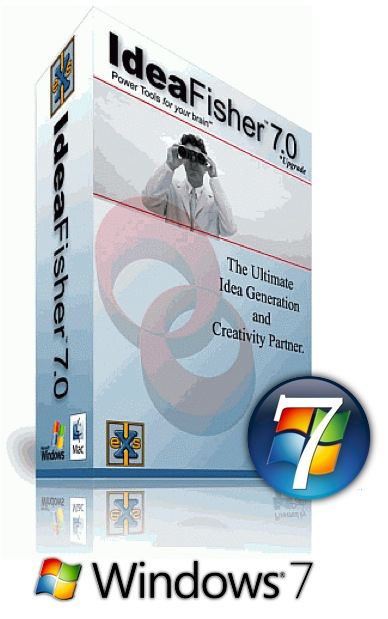 Need Better Ideas, Faster? IdeaFisher Retro-7, for Windows 7 Resurrects Classic IdeaFisher Program
