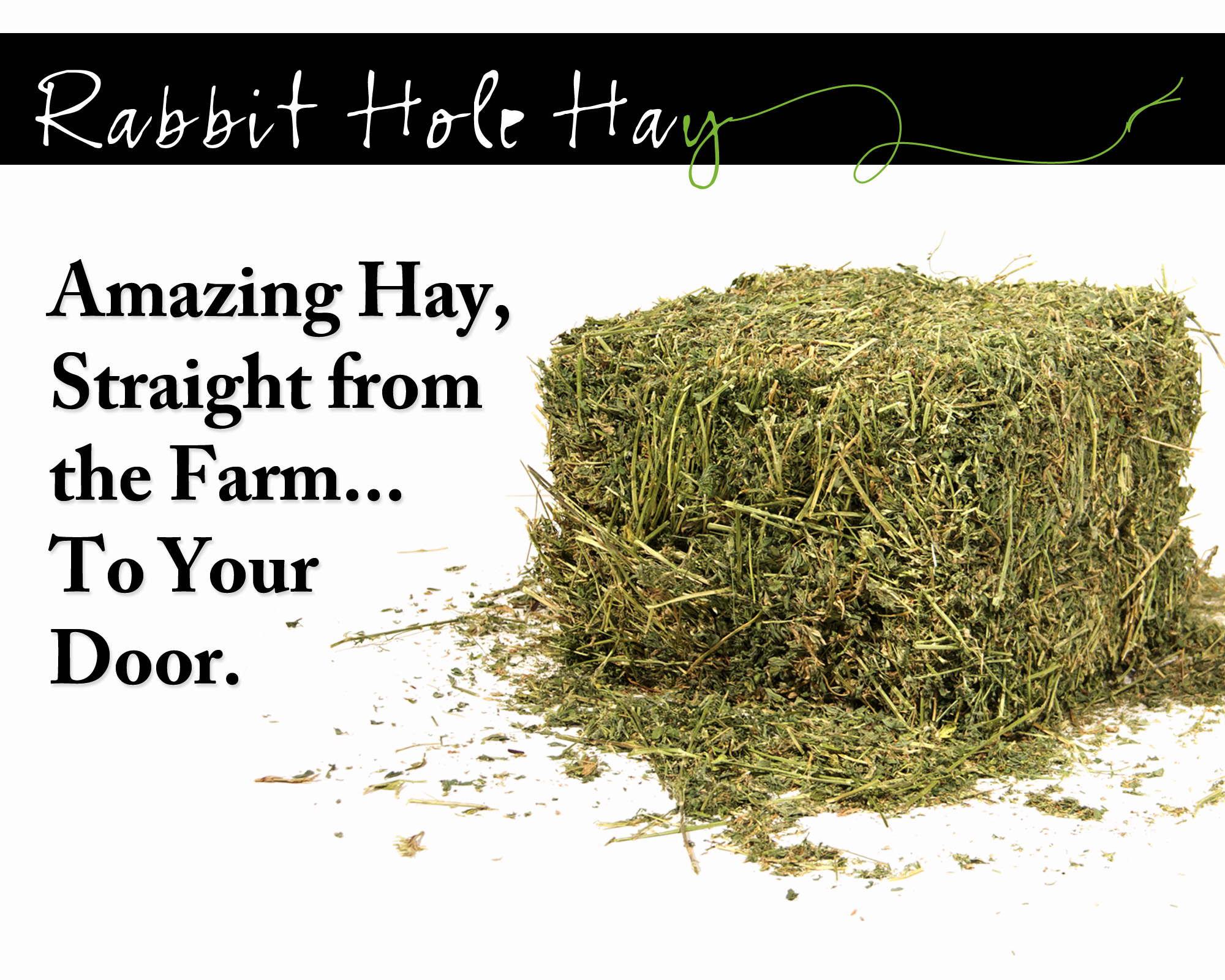 Rabbit Hole Hay Offers Simple Online Ordering Process for Farm Fresh Hay for Rabbits