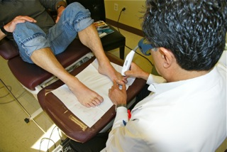 Dr. Michael Uro Foot Care, Sacramento Has Treated Over a Thousand Patients with a Revolutionary Toenail Fungus Laser Treatment