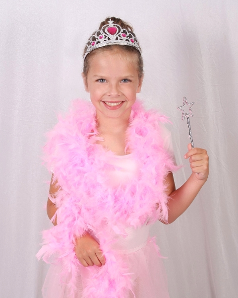 Girls Princess Tiara Wand Set Pink Tutu and Feather Boa Party Favor Kit Launched by Yagoozon